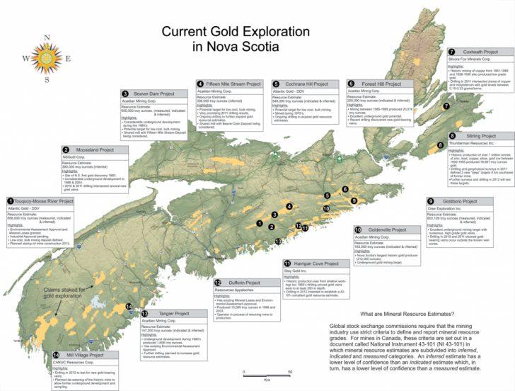 Printable Map Of Nova Scotia Canada