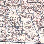 Georgia & Florida Railroad, 1926 Map, Madison, Fla. To Hazlehurst, Ga.   Madison Florida Map