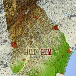 Georgia Prospecting – Gold And Gem Gazette Magazine   Gold Prospecting In Texas Map