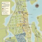 Get To Know Downtown St. Augustine With Our Printable Maps! | St   St Augustine Florida Map Of Attractions