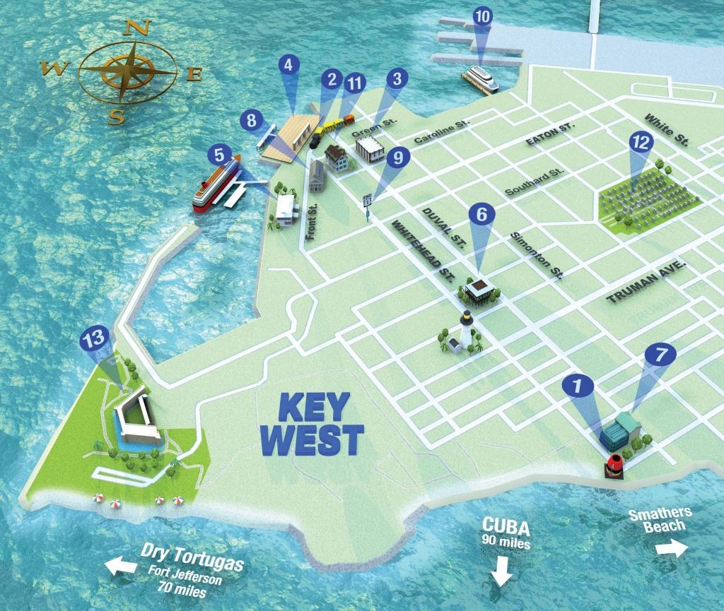 Getting Around Key West | Key West Florida Weekly | Key West News - Printable Street Map Of Key West Fl
