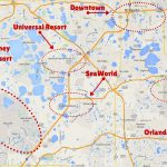 Getting Around The Orlando Theme Parks   The Trusted Traveller   Orlando Florida Attractions Map