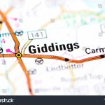 Giddings Texas Usa On Map Stock Photo (Edit Now) 1193750836   Giddings Texas Map