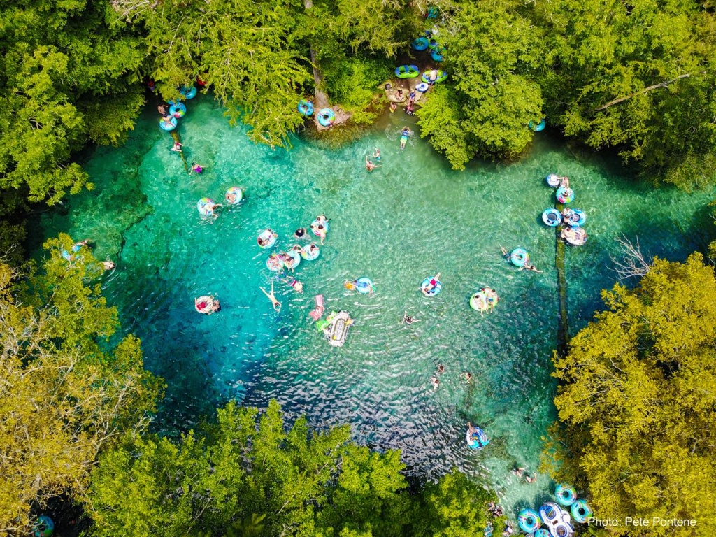 Ginnie Springs Outdoors, Florida - Camping Reservations - Ginnie Springs Florida Map