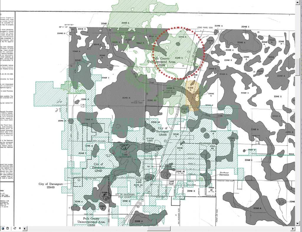 Gis-Ing Flood Data - Venice Florida Flood Map