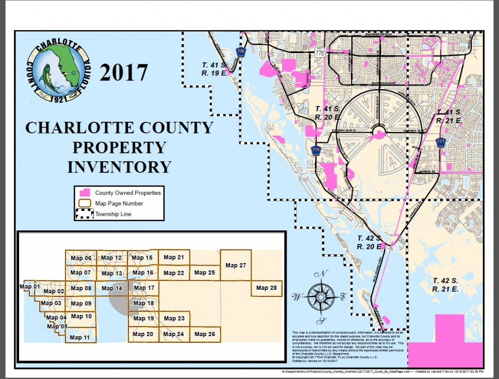 Gis Maps - All Documents - Map Of South Gulf Cove Florida