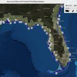 Global Warming Florida Map | Map North East   Florida Water Rising Map