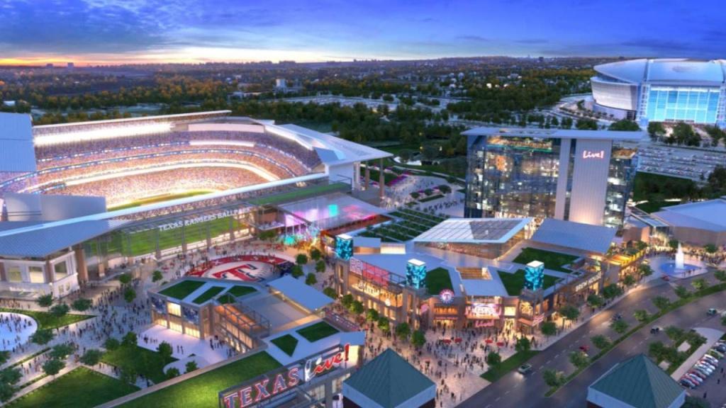 Globe Life Field Parking | Texas Rangers - Texas Rangers Stadium Parking Map