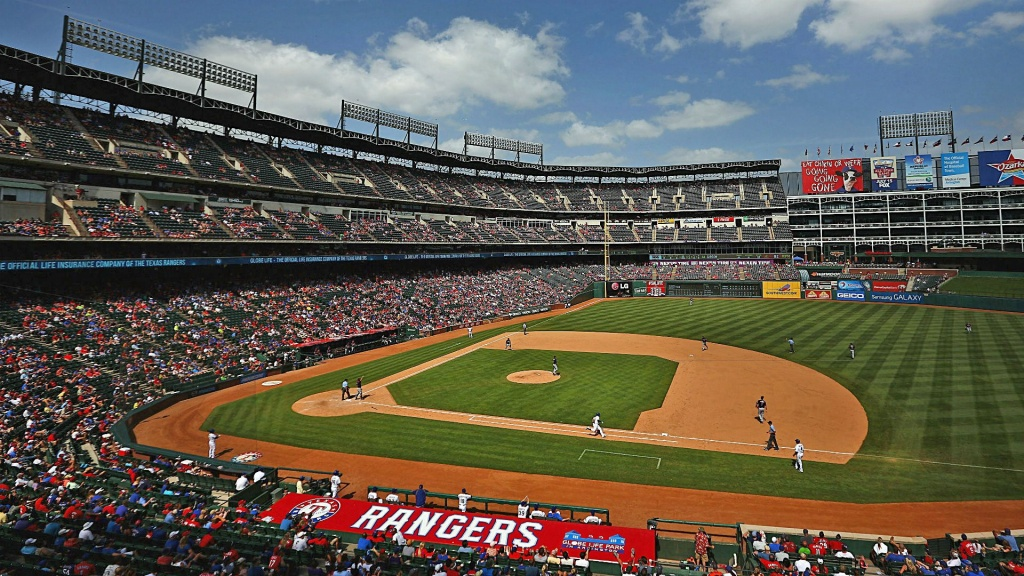 Globe Life Park Seat Map And Venue Information | Take Me Out To The - Texas Rangers Stadium Parking Map