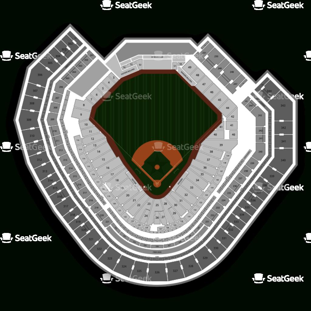 Globe Life Park Seating Chart | Seatgeek - Texas Rangers Stadium Map