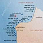 Golden Gate Shipwrecks | San Francisco, California | Flickr   California Shipwreck Map