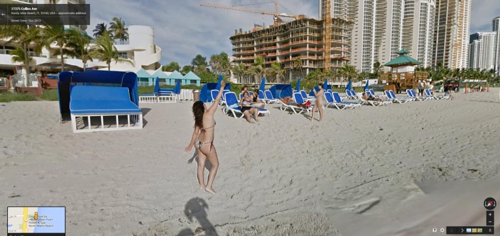 Google Beach View Florida Now Live! | Google Street View World - Google Maps South Beach Florida