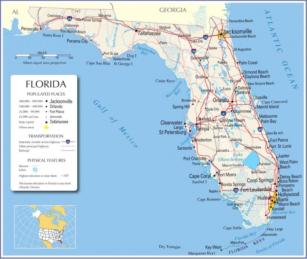 Google Map Florida Usa And Travel Information | Download Free Google - Miami Florida Google Maps