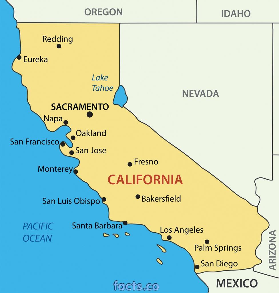 Google Map Of California Cities And Travel Information | Download - San Jose California Map