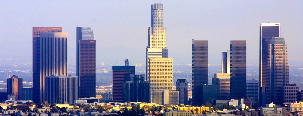 Google Map Of The City Los Angeles, Usa - Nations Online Project - Google Maps Los Angeles California