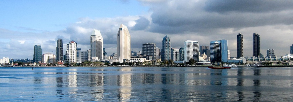 Google Map Of The City Of San Diego, California - Nations Online Project - Google Maps San Diego California