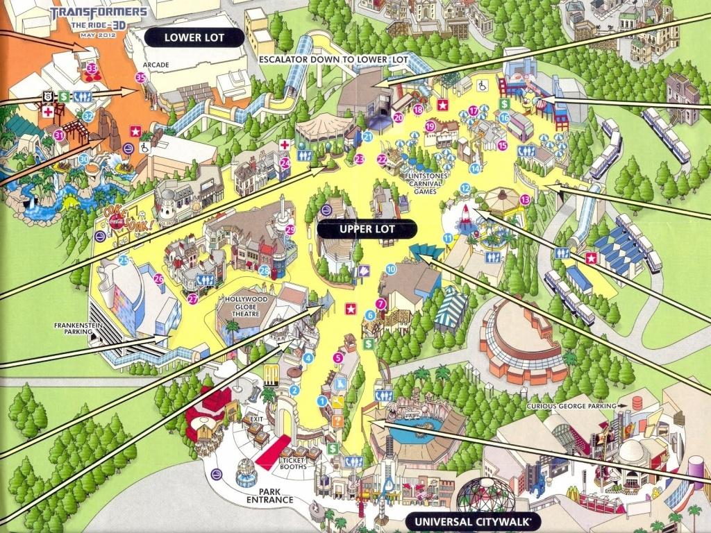 Google Map Universal Studios California – Map Of Usa District - Universal Studios California Map Of Park