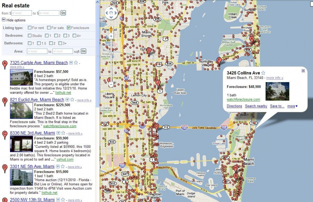 Google Map Usa Miami | World Map - Google Map Miami Florida