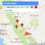Google Maps – Exporting Location Coordinates As .csv File For Fresno   Fresno California Google Maps