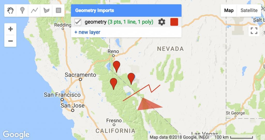 Google Maps – Exporting Location Coordinates As .csv File For Fresno - Fresno California Google Maps