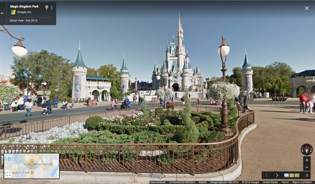 Google Maps Now Has 11 Disney Parks On Street View | Travel + Leisure - Google Maps Orlando Florida Street View