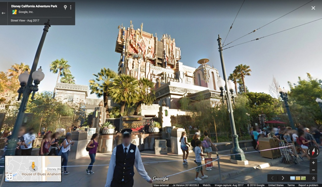 Google Maps Now Has 11 Disney Parks On Street View | Travel + Leisure - Google Maps Orlando Florida