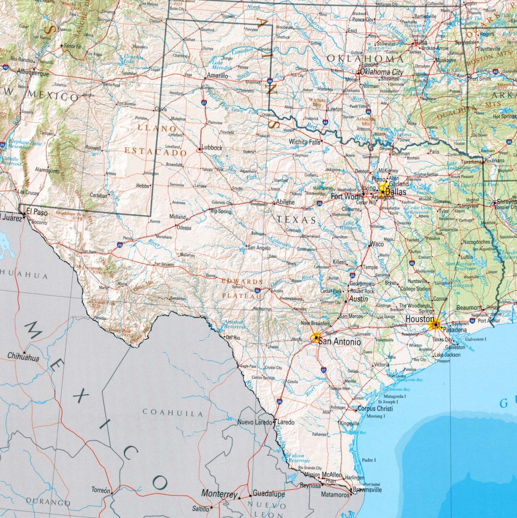 Google Maps Of Texas And Travel Information | Download Free Google - Google Maps Waco Texas