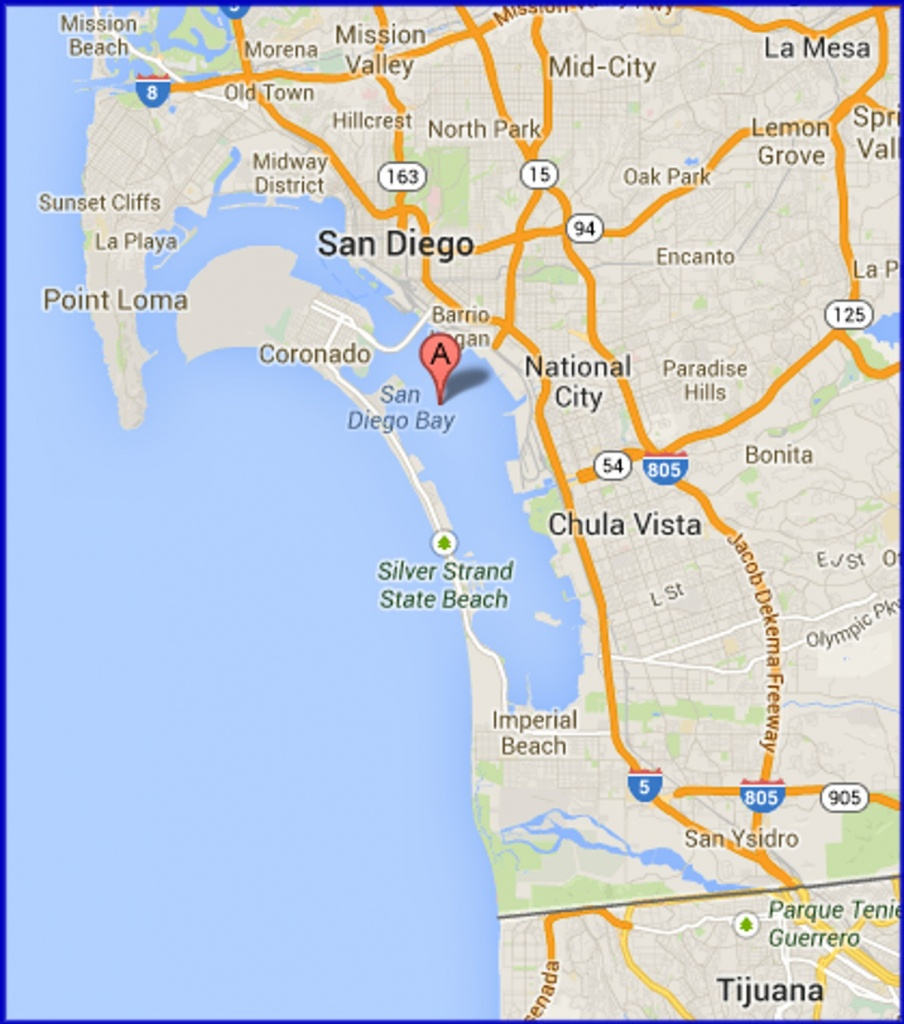 Google Maps San Diego 1 - Squarectomy - Google Maps San Diego California