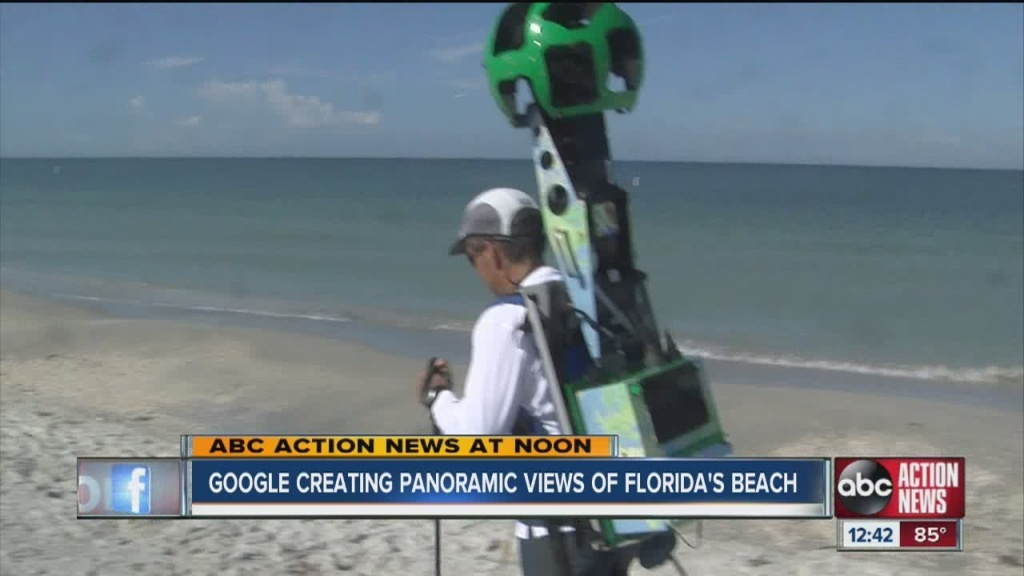 Google Maps Street View Cameras On Tampa Bay Area Beaches To Help - Google Maps Tampa Florida
