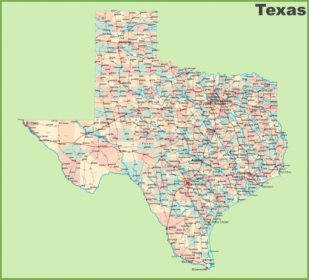 Google Maps Texas Cities Road Map Of Texas With Cities – Secretmuseum - Google Maps Texas