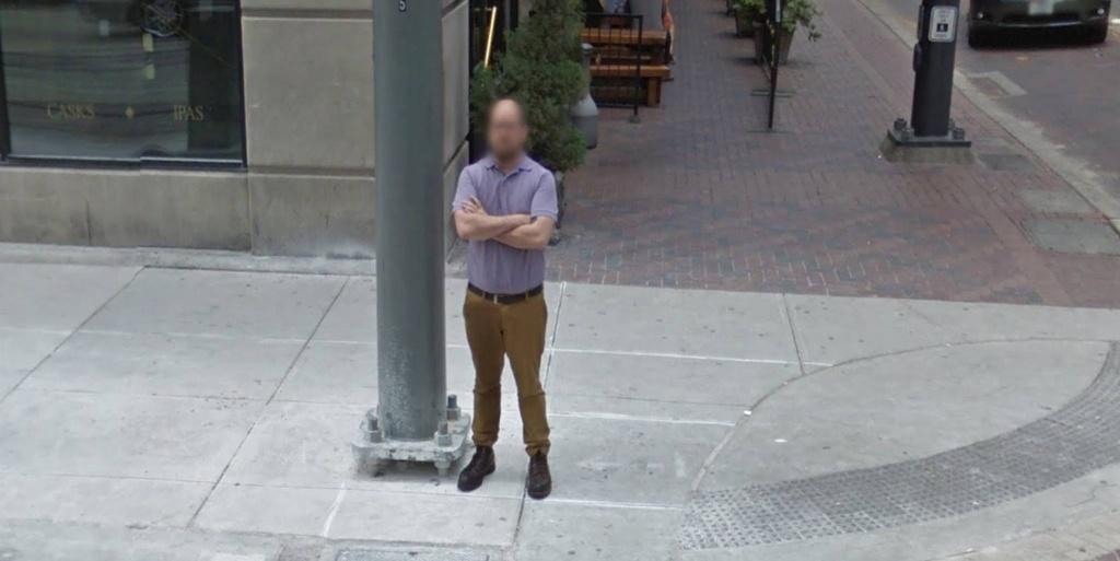 Google Street View Captures Man's Unfortunate Accident - Google Maps Street View Houston Texas