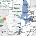 Grand Teton & Yellowstone National Park Map – Jackson Hole Traveler – Printable Map Of Grand Teton National Park