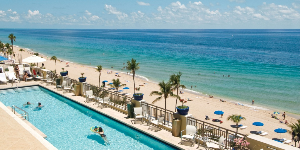Greater Fort Lauderdale Beach Hotels | Places To Stay - Map Of Hotels In Fort Lauderdale Florida