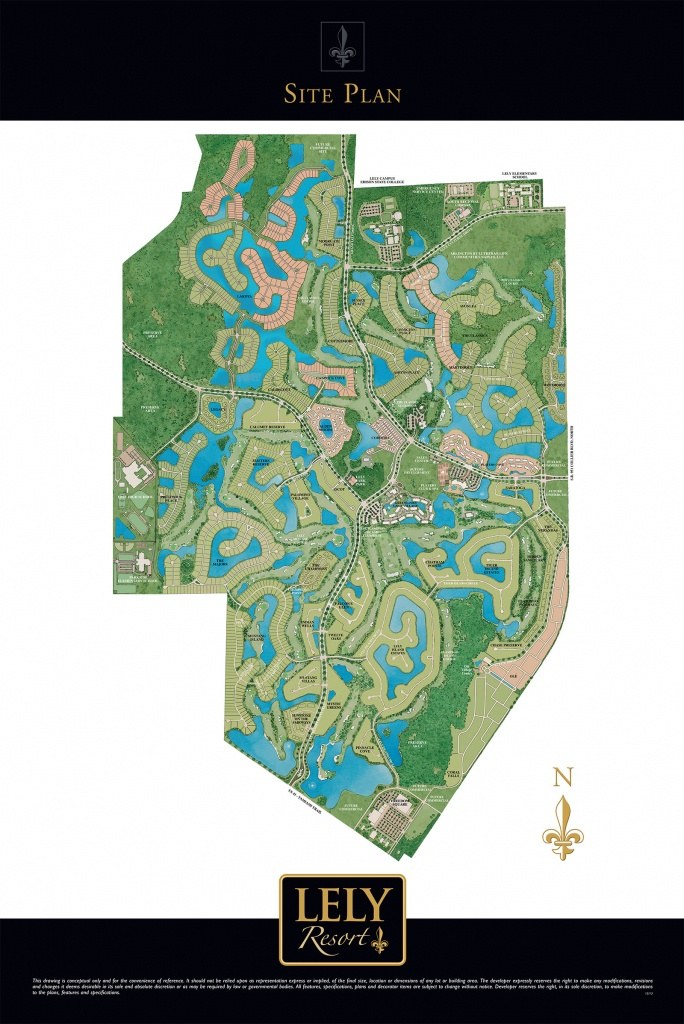 Greats Resorts : Lely Resort Naples - Lely Resort Naples Florida Map