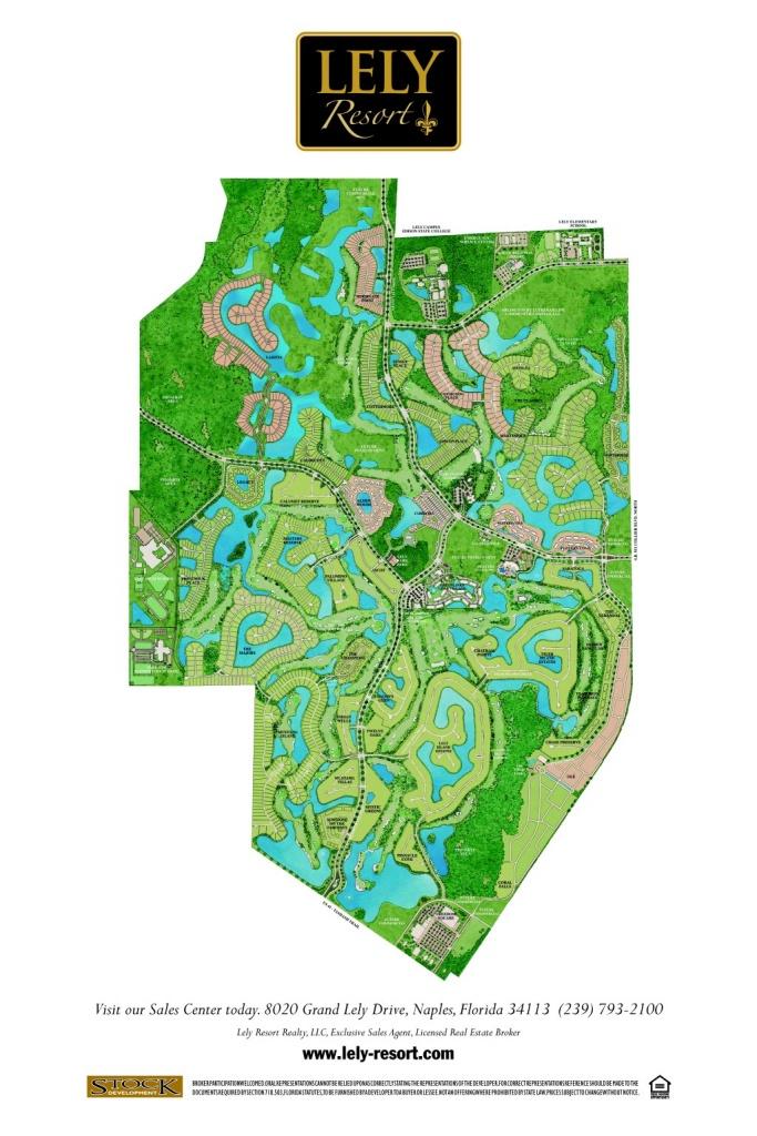 Greats Resorts : Lely Resort Vs Fiddlers Creek - Lely Resort Naples Florida Map