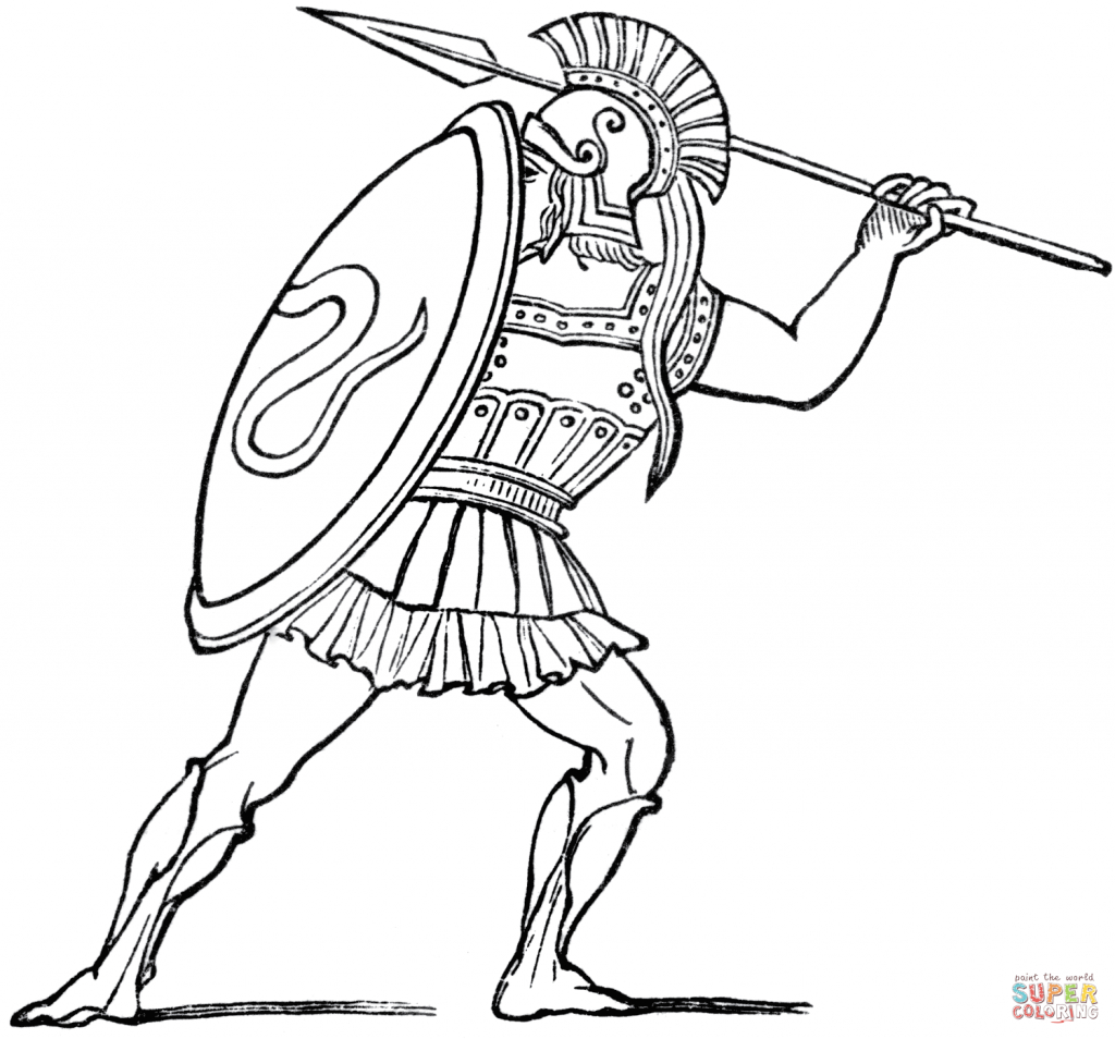 Greece Coloring Pages | Free Coloring Pages - Ancient Greece Map For Kids Printables