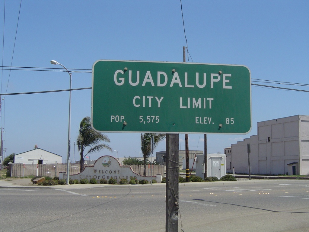 Guadalupe, California - Wikipedia - Guadalupe California Map