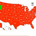 Gun Watch: Or: Expanded Ccw Reciprocity In Trouble   California Ccw Reciprocity Map
