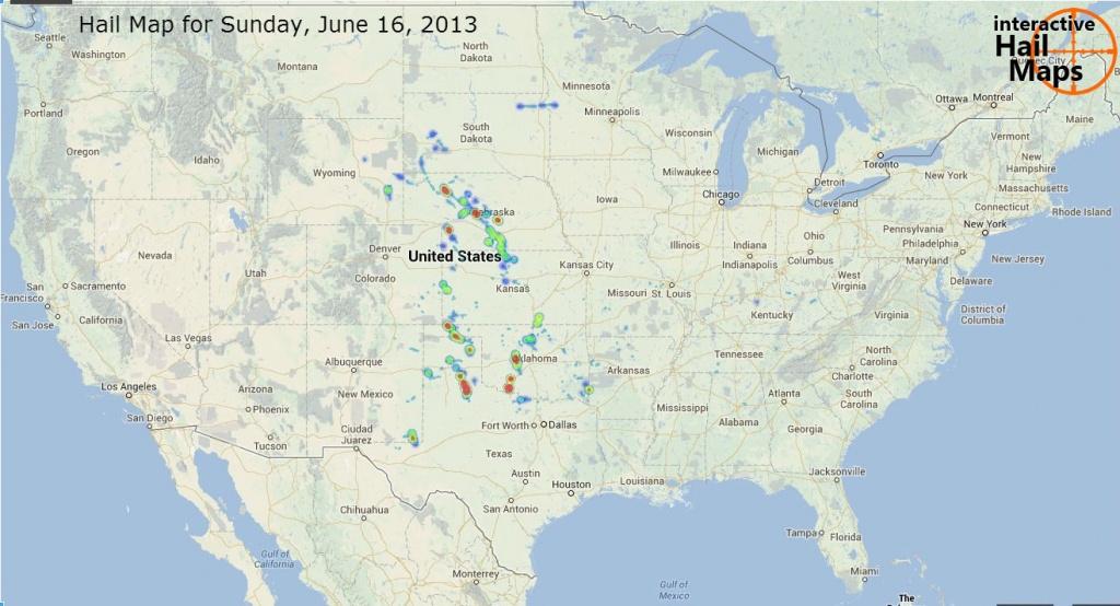 Hail Reports Archives - Interactive Hail Maps - Hail Maps Texas