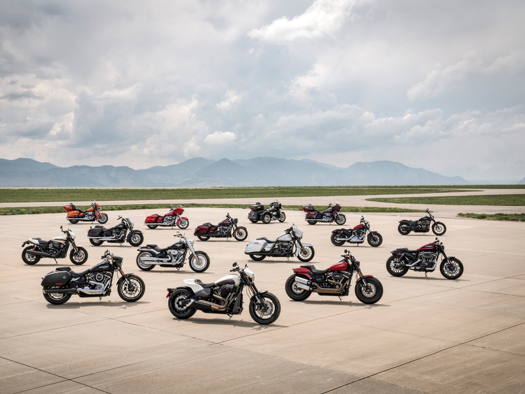 Harley-Davidson Usa - Texas Harley Davidson Dealers Map