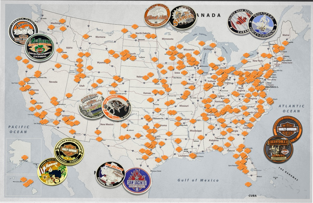 Harley Dealers – Harley Davidson – Symbol Arts - Texas Harley Davidson Dealers Map