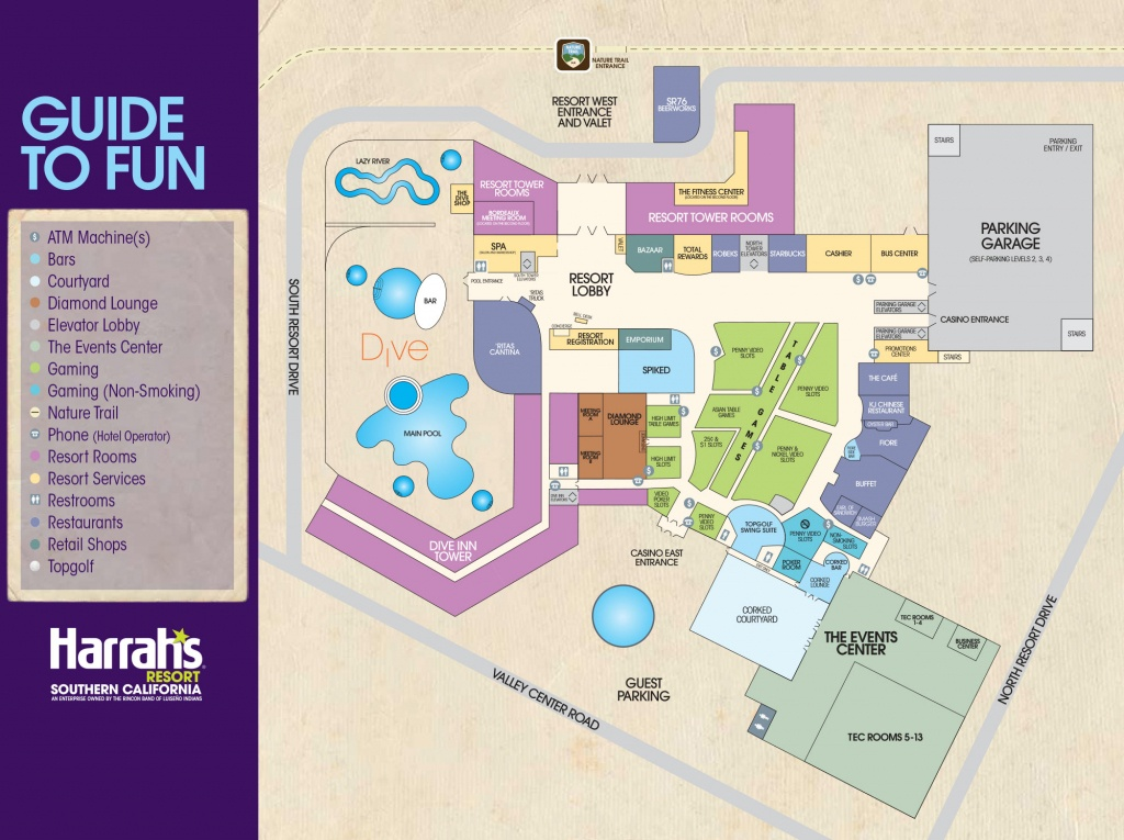 Harrah's Resort Southern California Hotel - Funner California Map