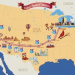 Haunted Road Trip On Route 66 | Lovetoknow   Free Printable Route 66 Map