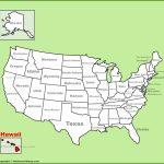 Hawaii State Maps | Usa | Maps Of Hawaii (Hawaiian Islands)   Map Of Hawaiian Islands And California