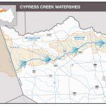 Hcfcd   Cypress Creek   Texas Waterways Map