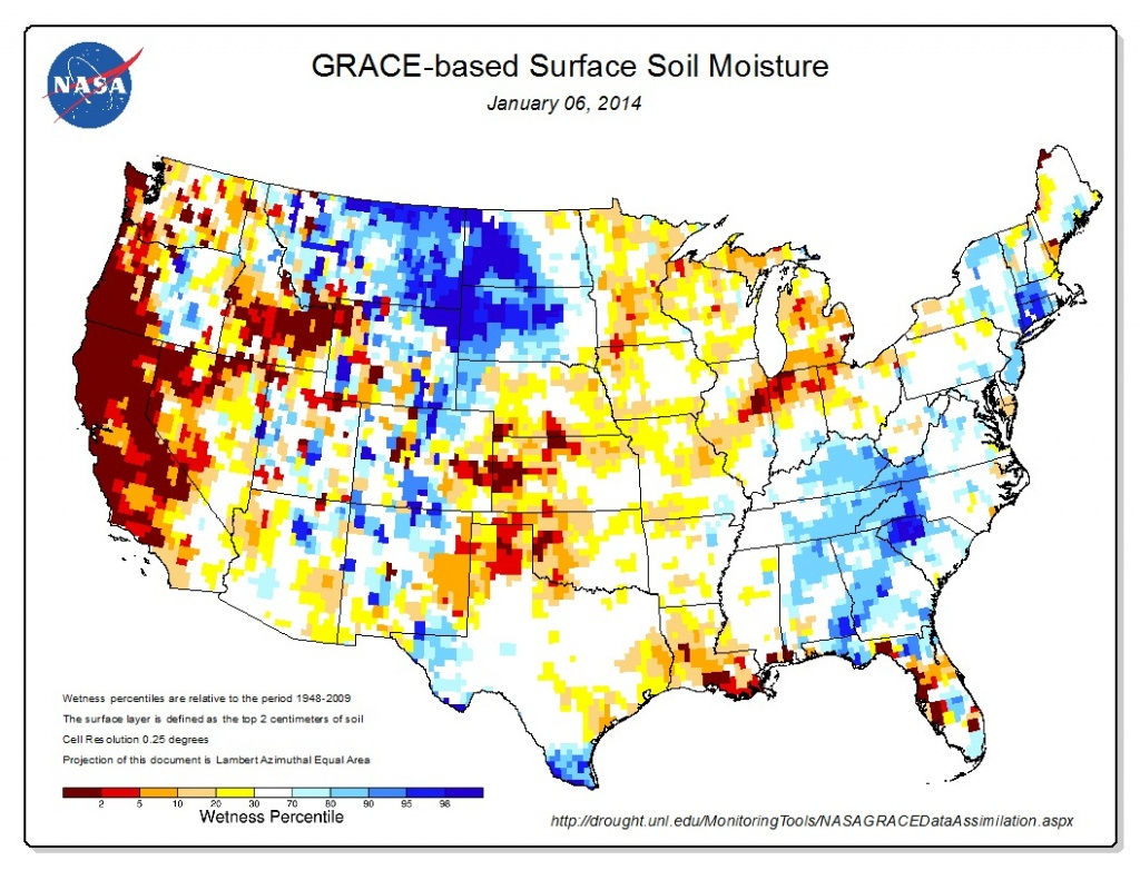 Heat Map: Serious Drought In California | See The World Through - California Heat Map