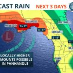 Heavy Rain, Possible Flooding This Weekend   Florida Storms   Map Of Florida Panhandle Gulf Coast