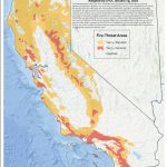Here Is Where Extreme Fire-Threat Areas Overlap Heavily Populated - 2018 California Fire Map