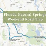 Here's The Perfect Weekend Itinerary If You Love Exploring Florida's   Map Of Natural Springs In Florida