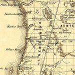 Hernando County, 1859   Hernando Florida Map